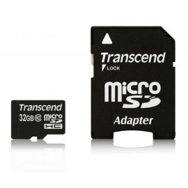 243 thickbox default Micro SD 32GB TRANSCE. TS32GUSDHC10