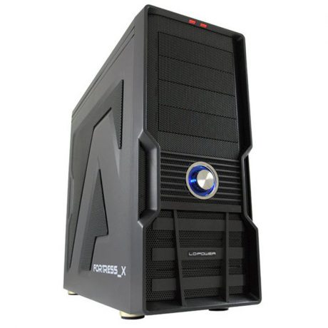 LC Power Gaming 973B FORTRESS X USB3.0 Black 1