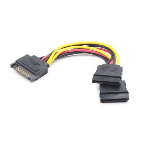 CC SATAM2F 01 SATA splitter 0.15 m