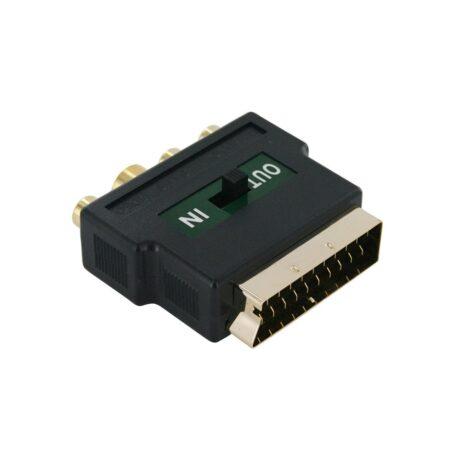 CCV 4415 SCART 3X 3RCA 1X SVHS 1