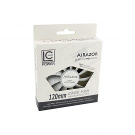 Cooler LC Power LC CF 120 PRO WHITE AIRAZOR 2