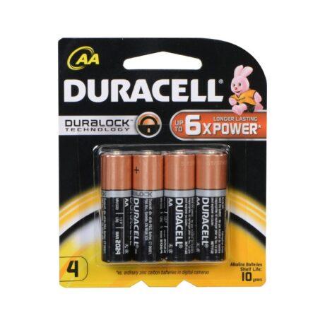 Duracell AA 1.5V MN1500 PAK4 CK