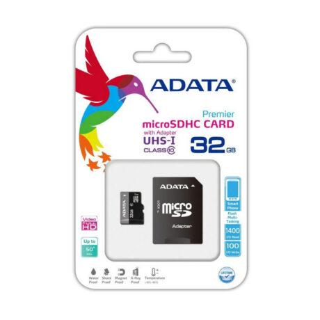 MicroSD 32GB AUSDH32GUICL10 RA1 1