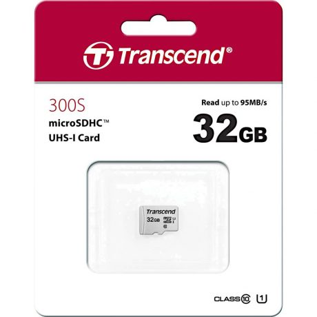 MicroSD 32GB Trans. TS32GUSD300S