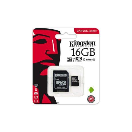 Micro Sd 16gb Kingston Sdcs 16gb